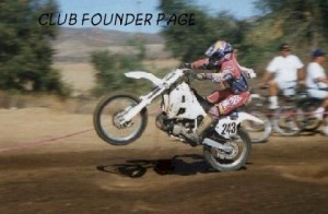 Mike Tarter doing a wheelie